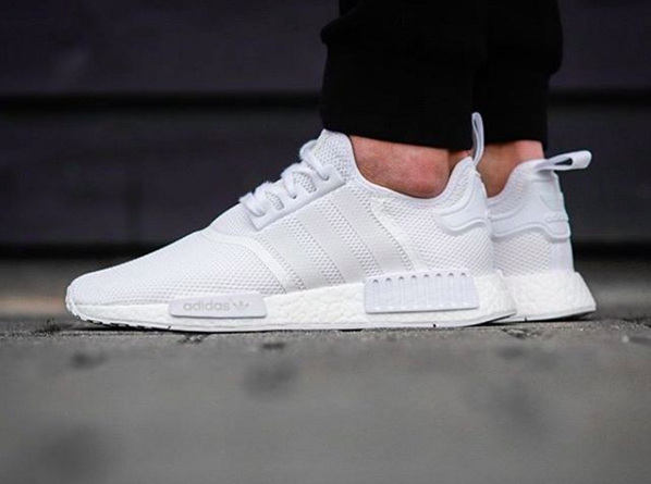 adidas ultra boost triple white foot locker adidas nmd white
