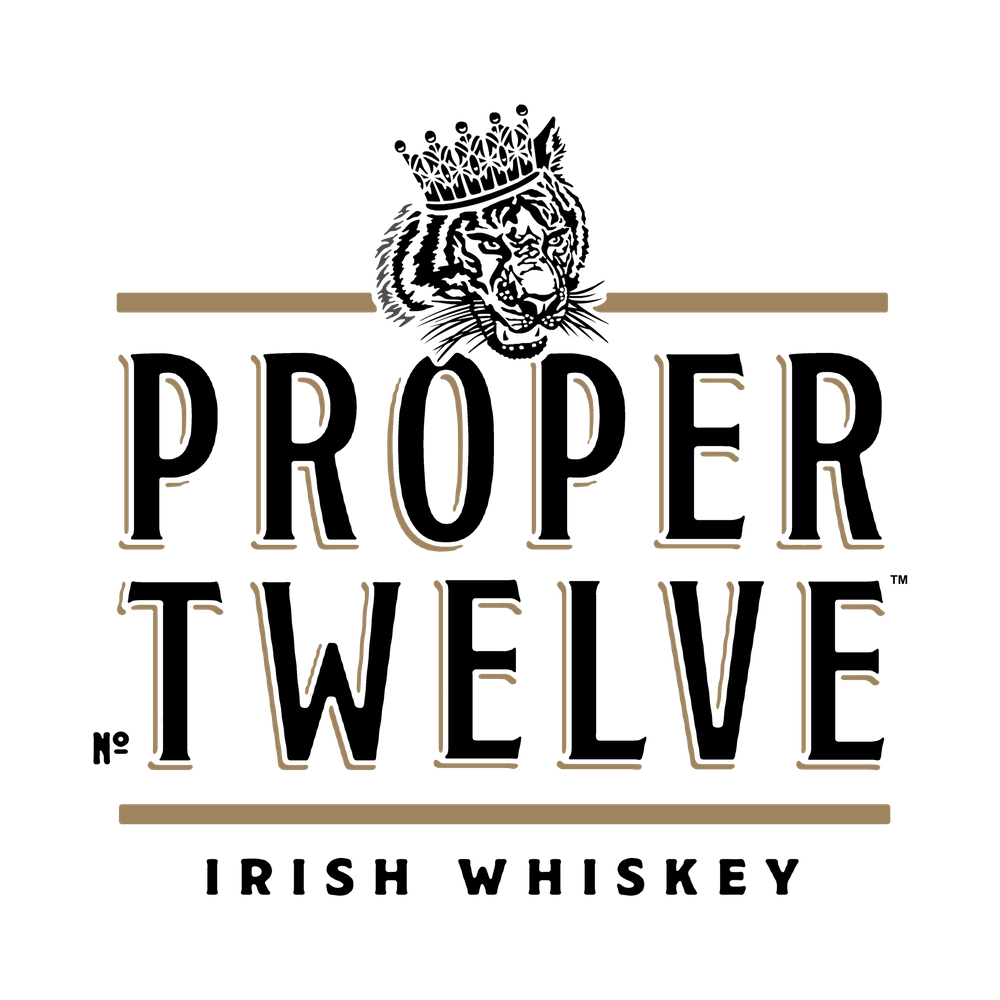 Proper Twelve Irish Whiskey Logo Art Print by handa X