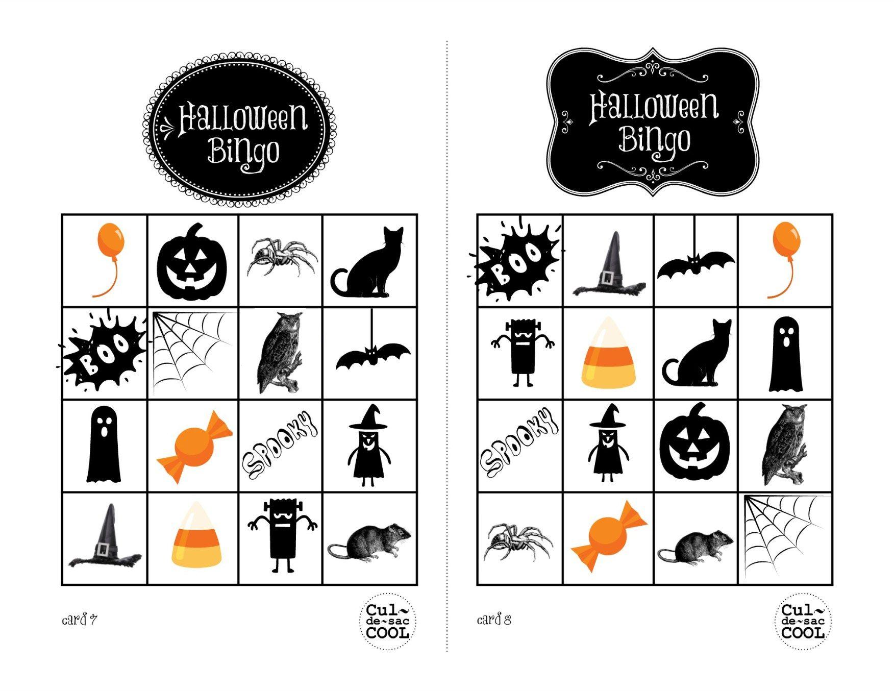 halloween bingo cards 78
