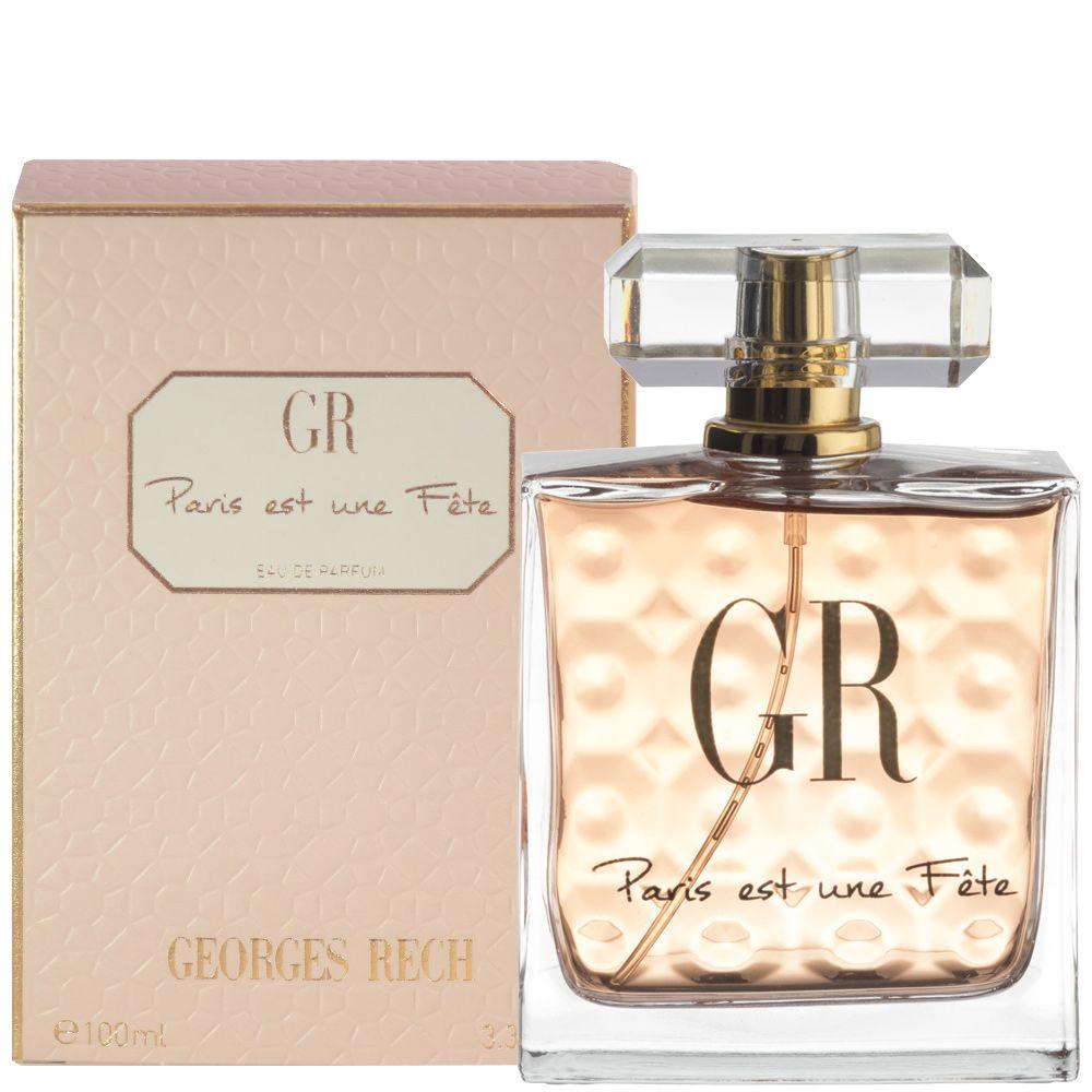 Paris Est Une Fête Eau De Parfum 100 Ml Georges Rech Parfums The