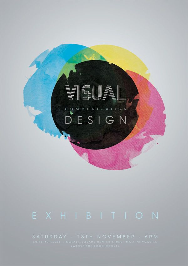 visual communication design poster on behance