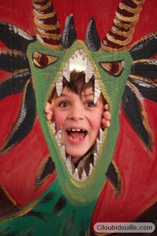 anniversaire chevalier dragon