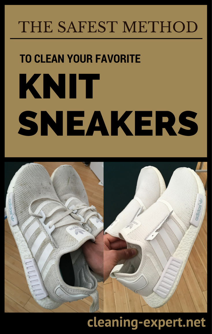 The Safest Method to Clean Your Favorite Knit Sneakers