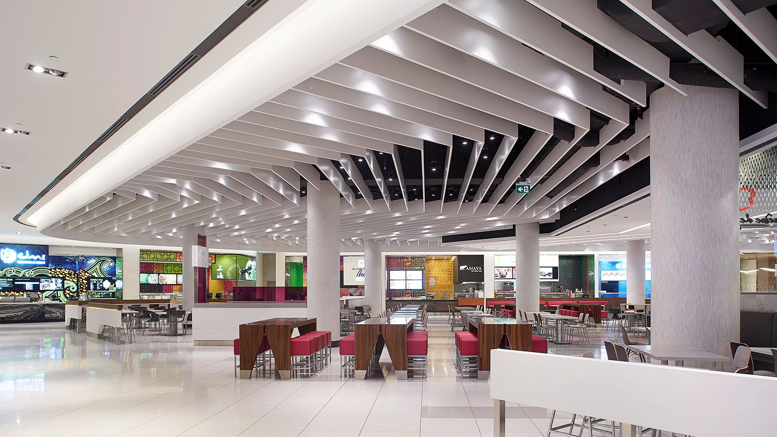 Rideau Centre Dining Hall GHA Design Retail Design
