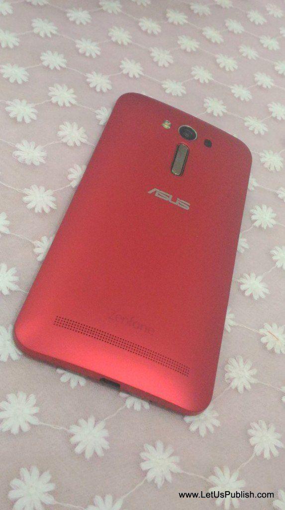 Asus Zenfone 2 Laser Design from back #gadgets