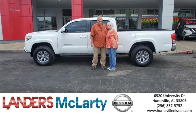 Congratulations Alton On Your Toyota Tacoma From Leonard Suit At Landers Mclarty Nissan Newcar Nissantown Ihearthsv New Cars Nissan Welcome To The Family