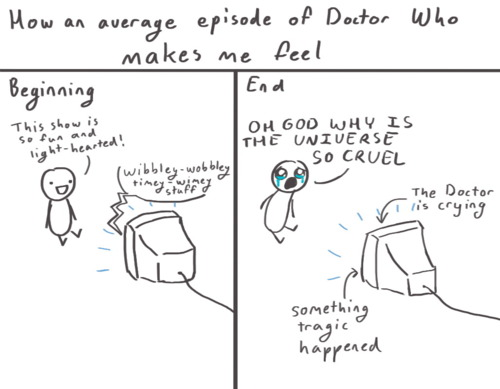 How an average episode of Doctor Who makes me feel.