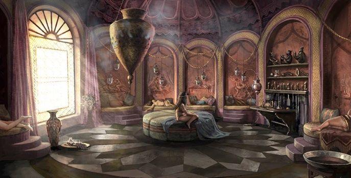 Bedroom Fantasy Art