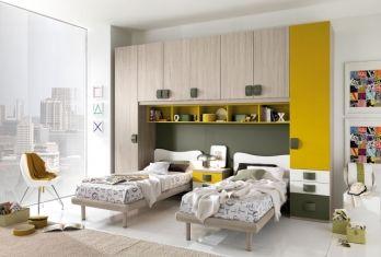 Camerette in stille moderno Torino SUMISURA Fabbrica