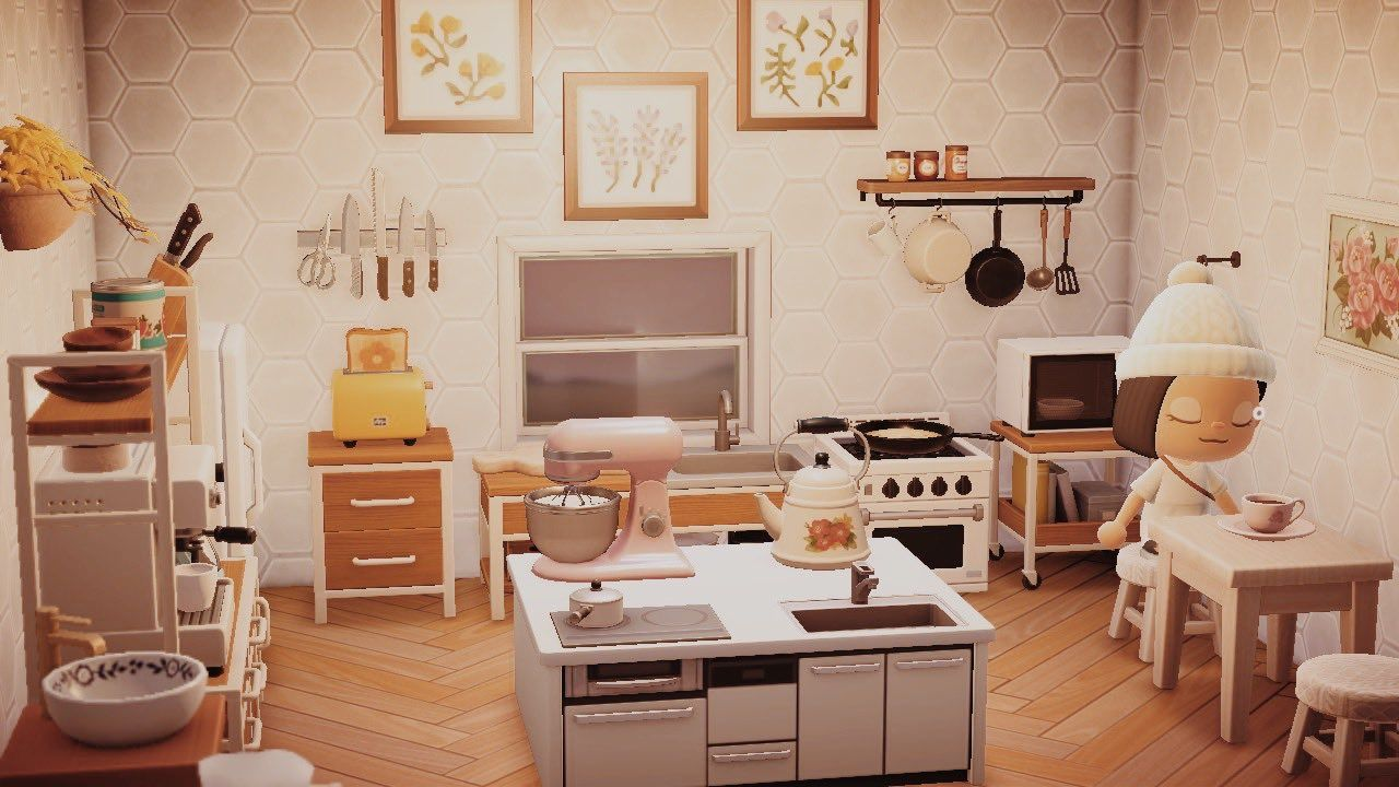(2) acnh kitchen - Twitter Search / Twitter in 2020   New ... on Animal Crossing Kitchen Island  id=69242