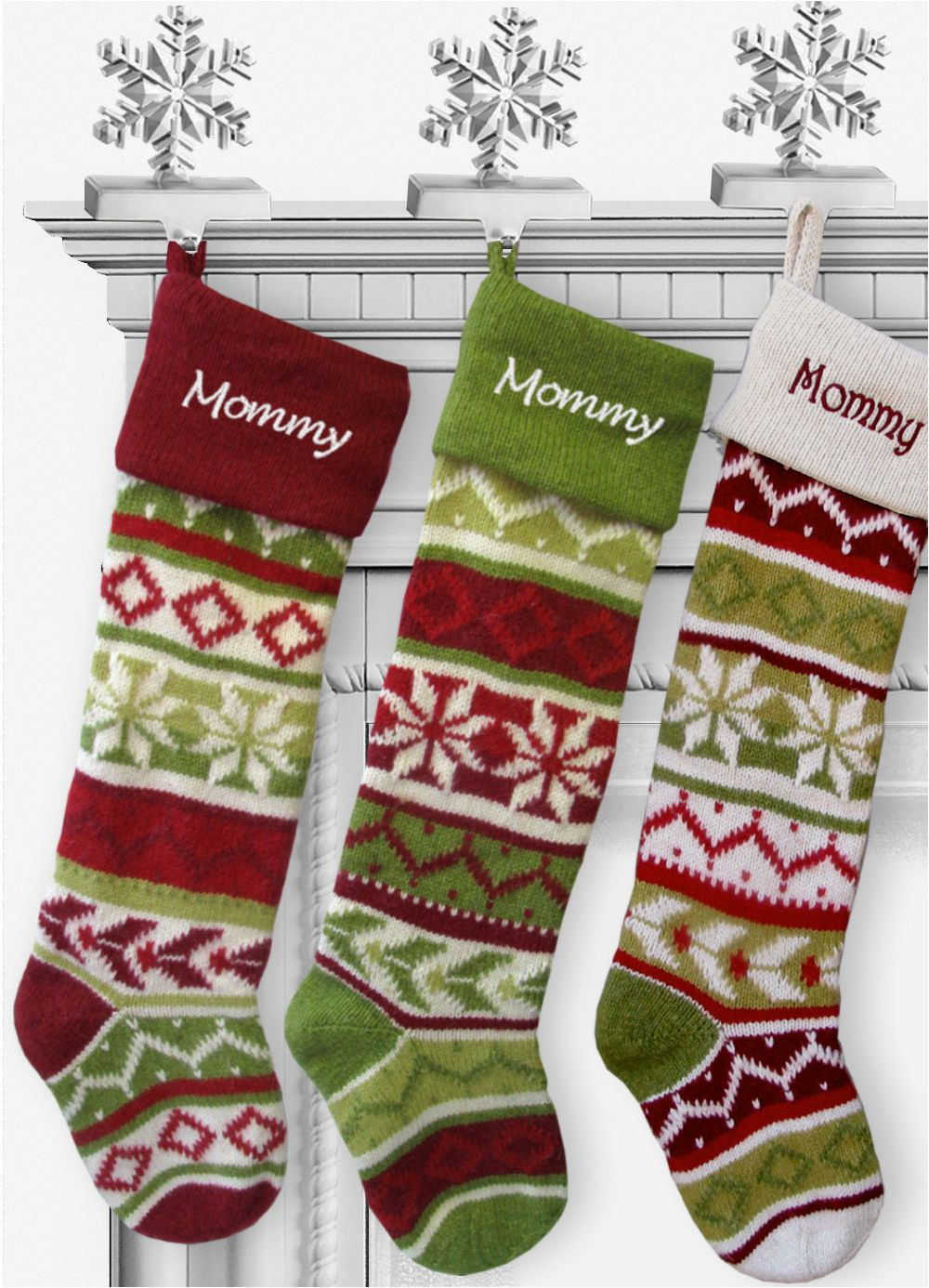 Handmade Christmas Stockings Knit Christmas Stockings 28 Large Personalized Free