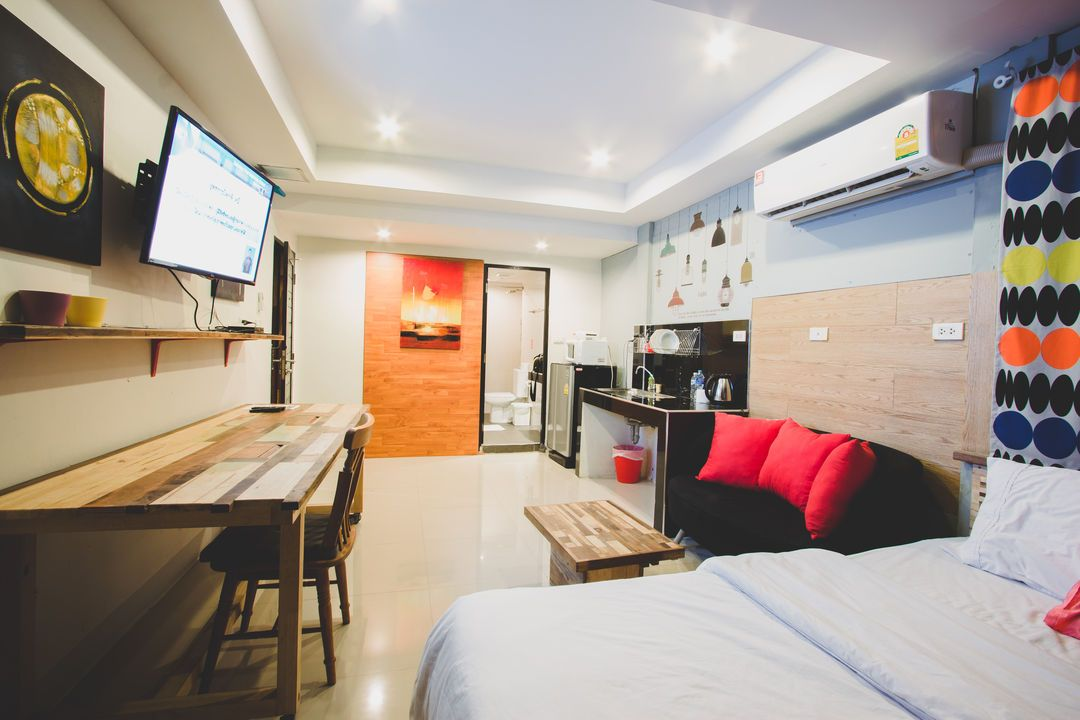 Cool Studio Apartment In Bangkok, Thailand