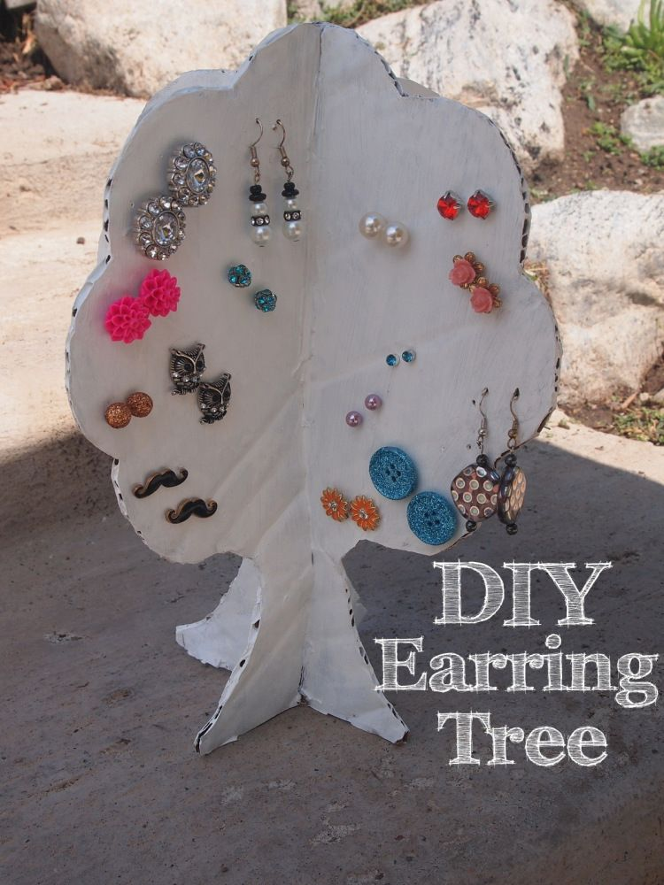 Earring Tree Such A Good Solution To Organizing Earrings