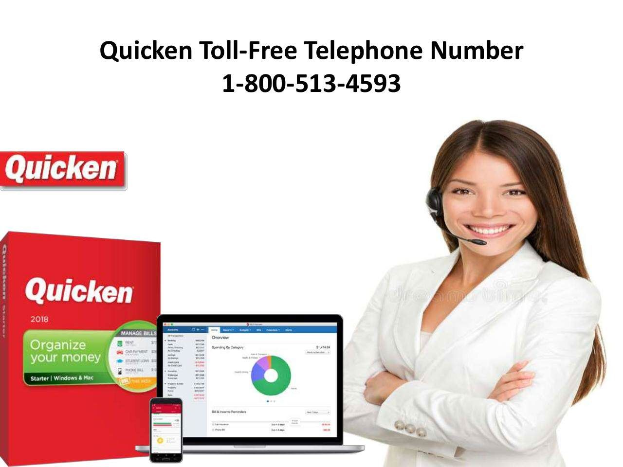 Dial our quicken tollfree telephone number 18005134593