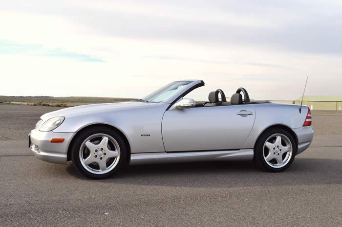 2001 mercedes slk320 sport package brilliant silver on for 2001 mercedes benz slk320
