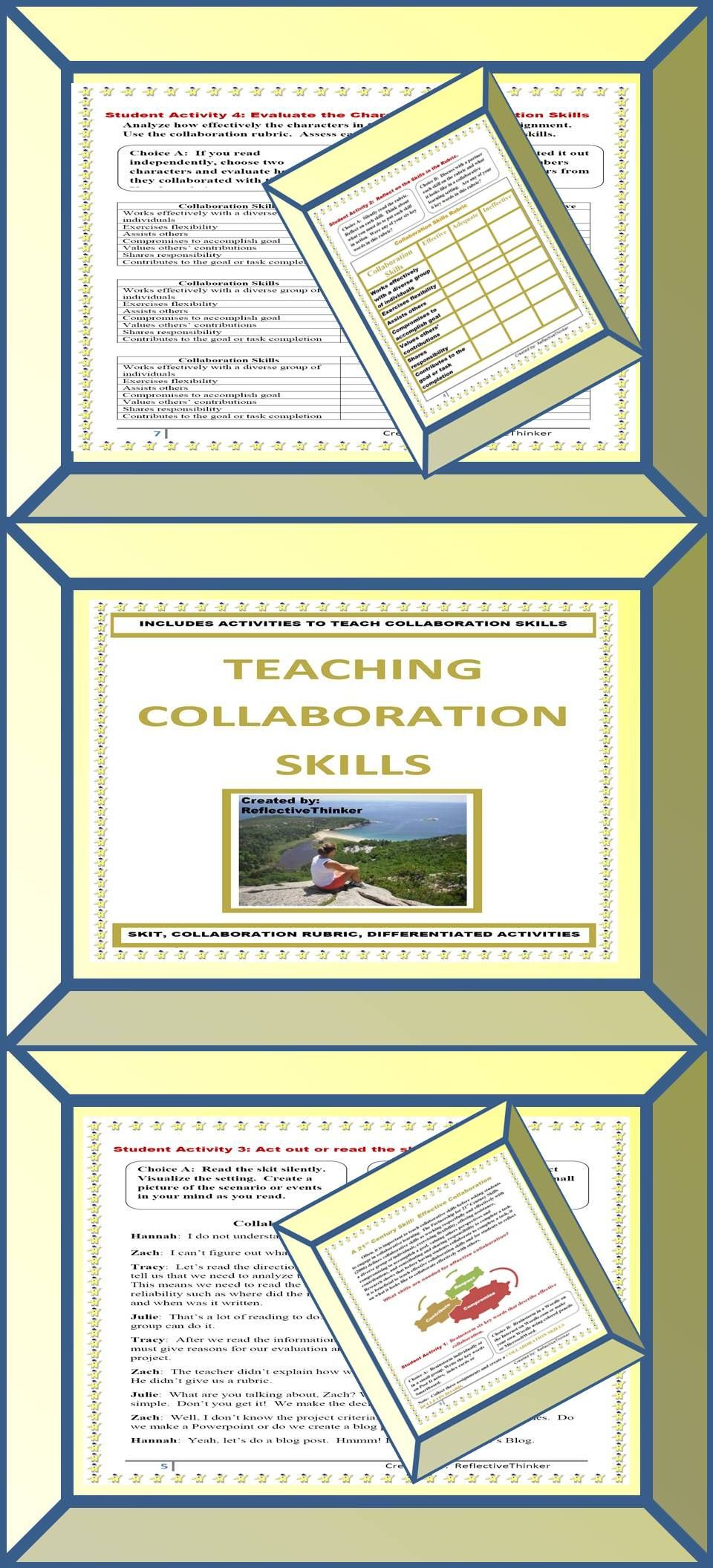 Teaching Collaboration A 21st Century Skill