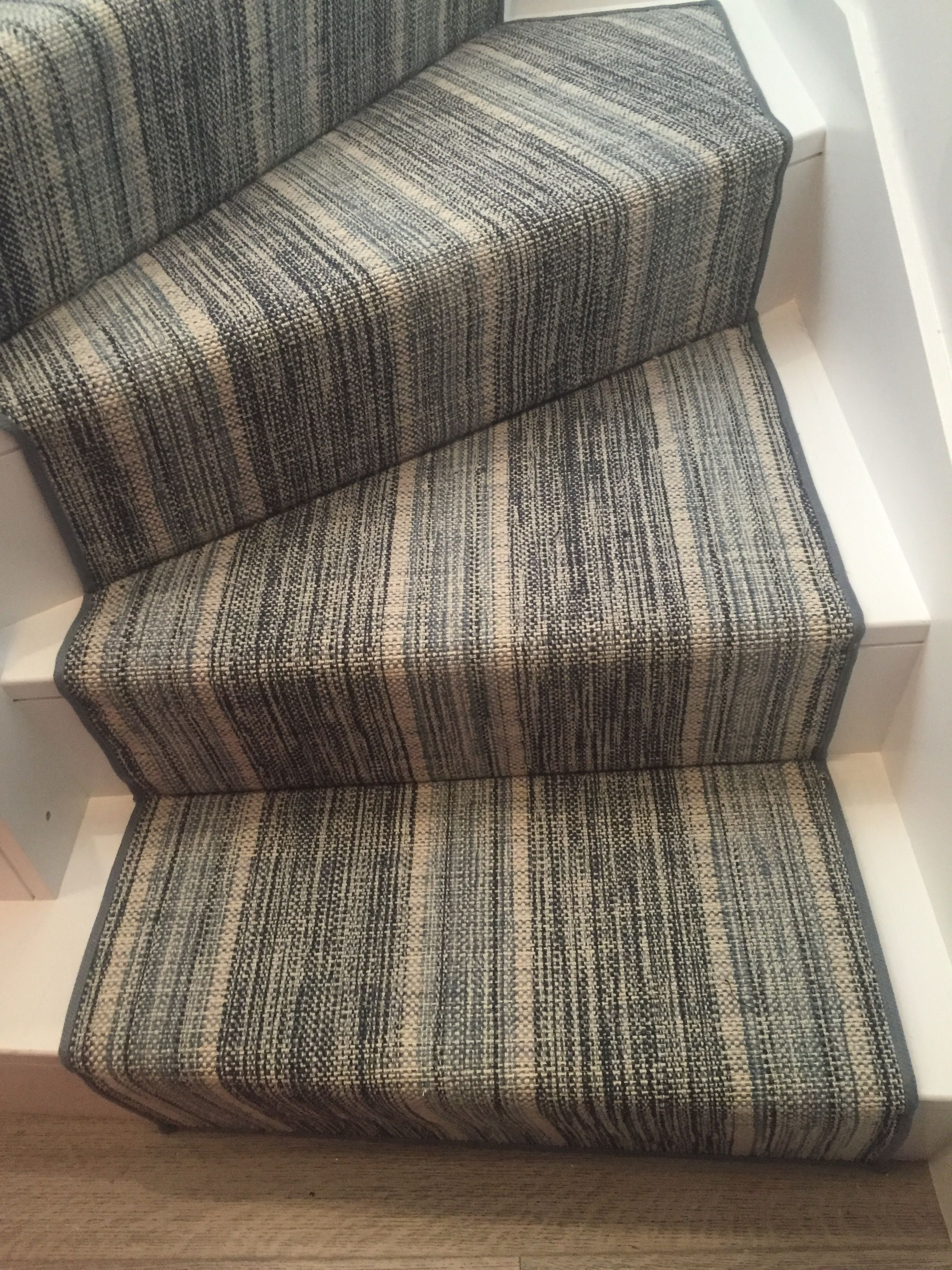 Bellbridge Linen Stripe NavyDenim  Hallway ideas  Pinterest