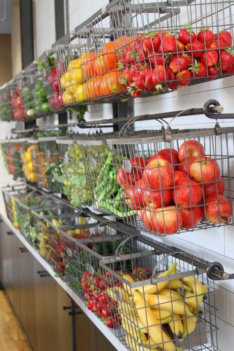 Nekter Juice Bar Fruit Storagefruit