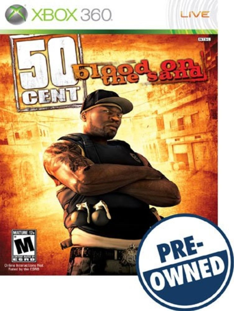 50 Cent Blood On The Sand A Pre Owned Xbox 360 Latest Video