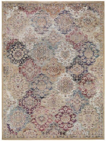 tapis vintage cedar multicouleur tapis pinterest tapis accesoire et collage. Black Bedroom Furniture Sets. Home Design Ideas