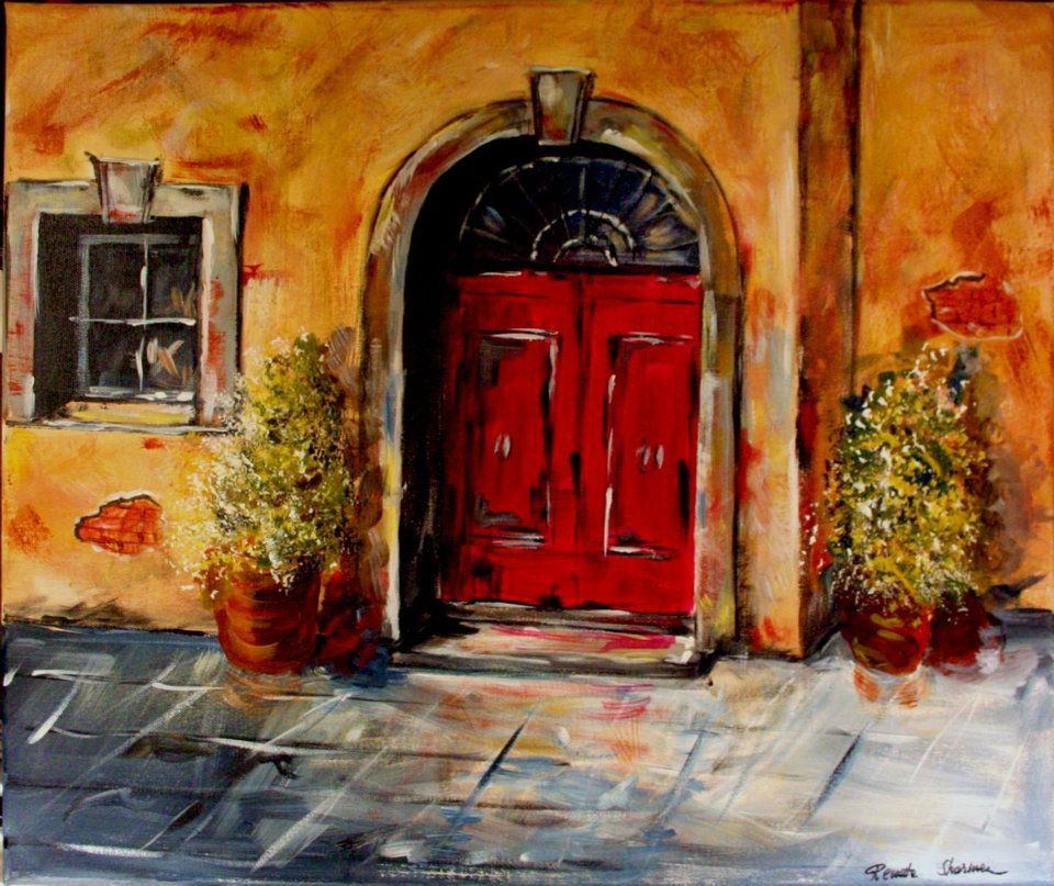 The red door painting with a twist painting for Painting with a twist lexington