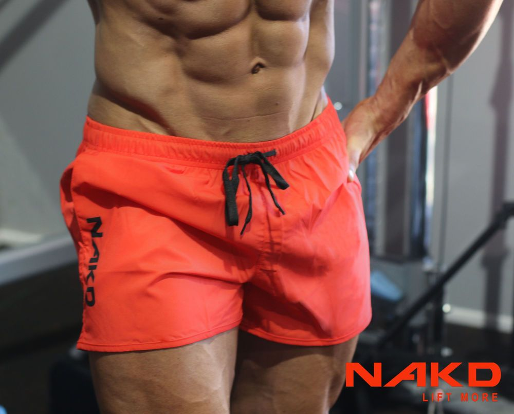 NAKD Flex shorts BODYBUILDING, GYM, TRAINING, SHORT MENS RUNNING ...