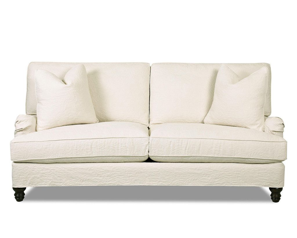 White Cami Sofa by Klaussner at Kensington Furniture   Memorial Day ...