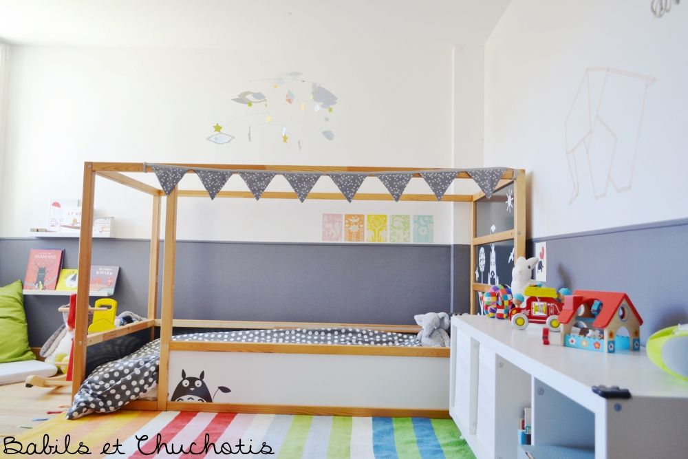 Chambre Poc 8 Little J Pinterest Kura Bed Ikea Hack