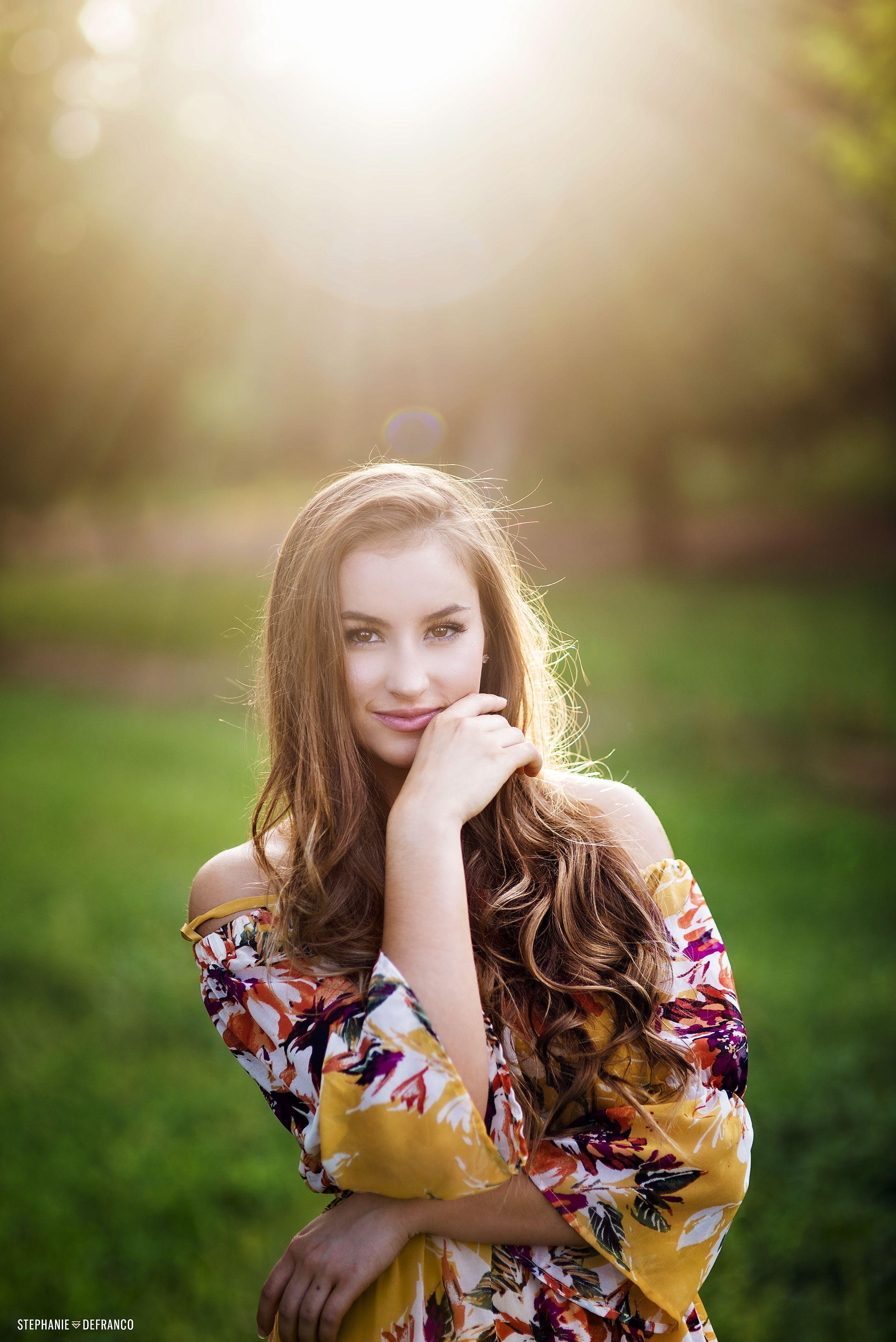 High School Senior   Stephanie DeFranco Photography
