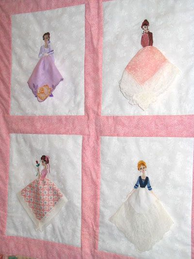 Hankie Quilt Embroidery Library Stitchers Showcase