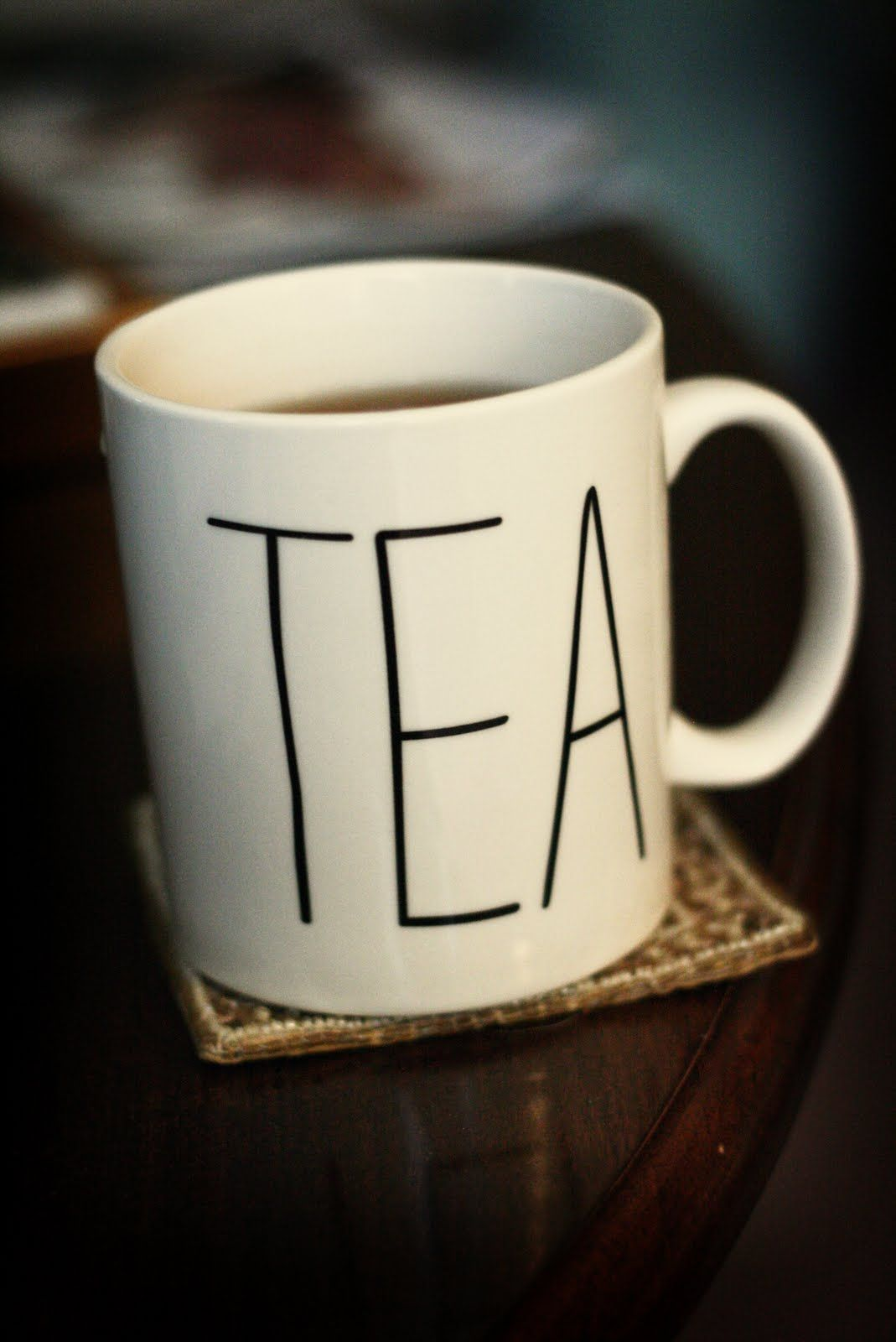 A great DIY to dress up a plain mug! Could also be a great gift for any tea or coffee lovers you know...or those who drink juice out of a mug, like my family. :) Simply write on the mug with a Sharpie, and bake in the oven for around 30 minutes at somewhere between 300 and 400 degrees.