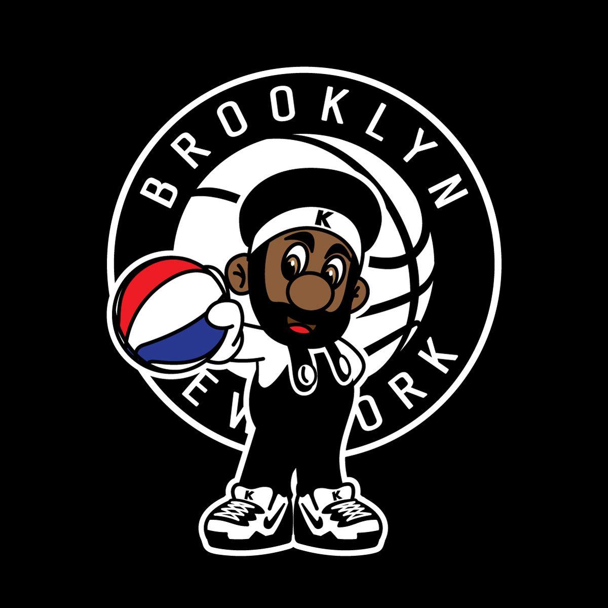 Kevin Durant Brooklyn Nets Biggie Coogi Basketball NBA