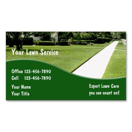 Landscaping Business Cards Zazzle Com With Images
