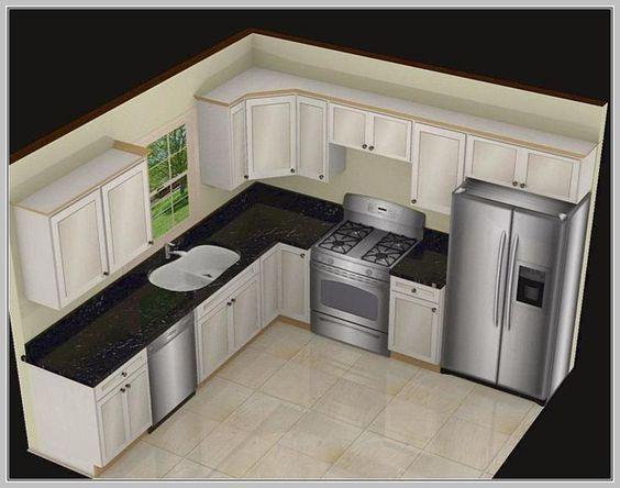 Superbe Resultado De Imagen Para 10 X 8 Kitchen Layout