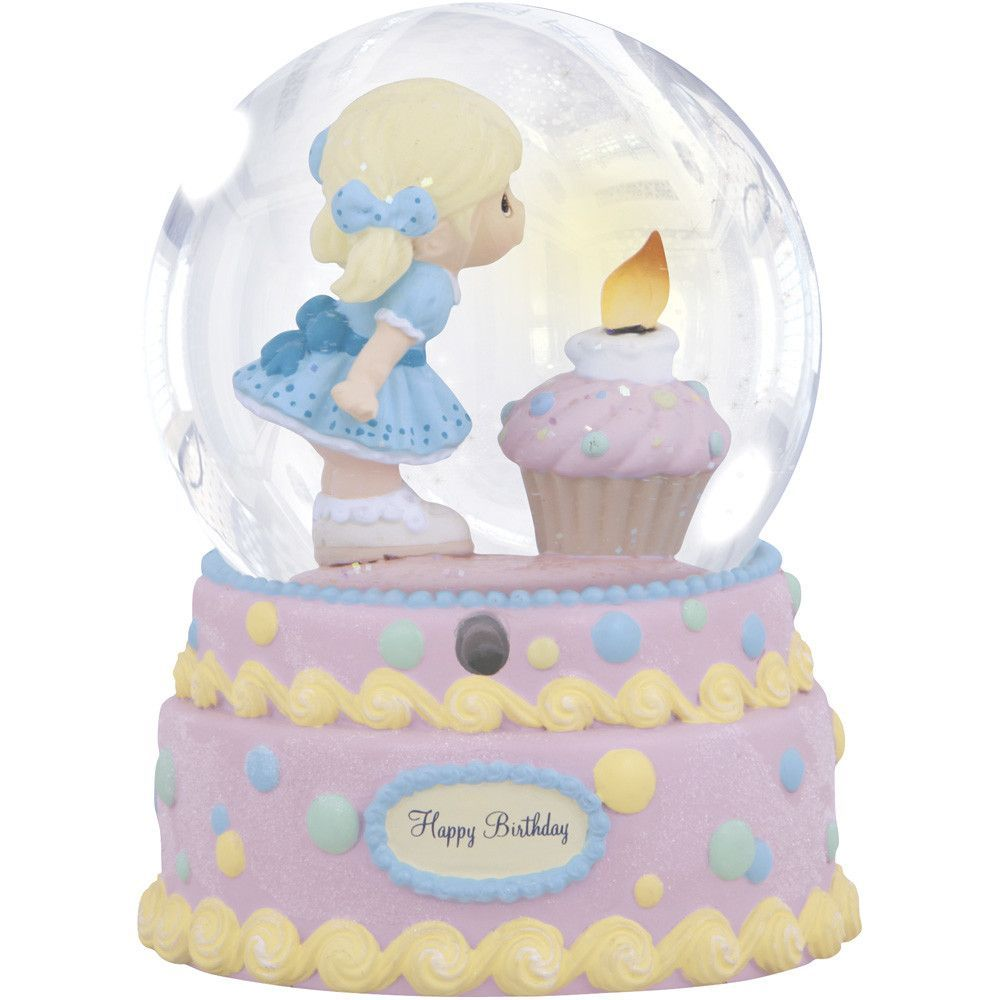 """Happy Birthday"" Musical Snow Globe"