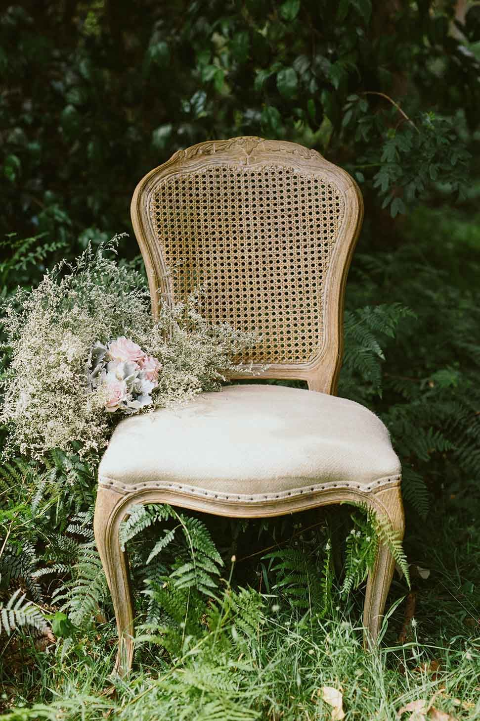 Louis XV Style Rattan Back Chair (With images) Rattan