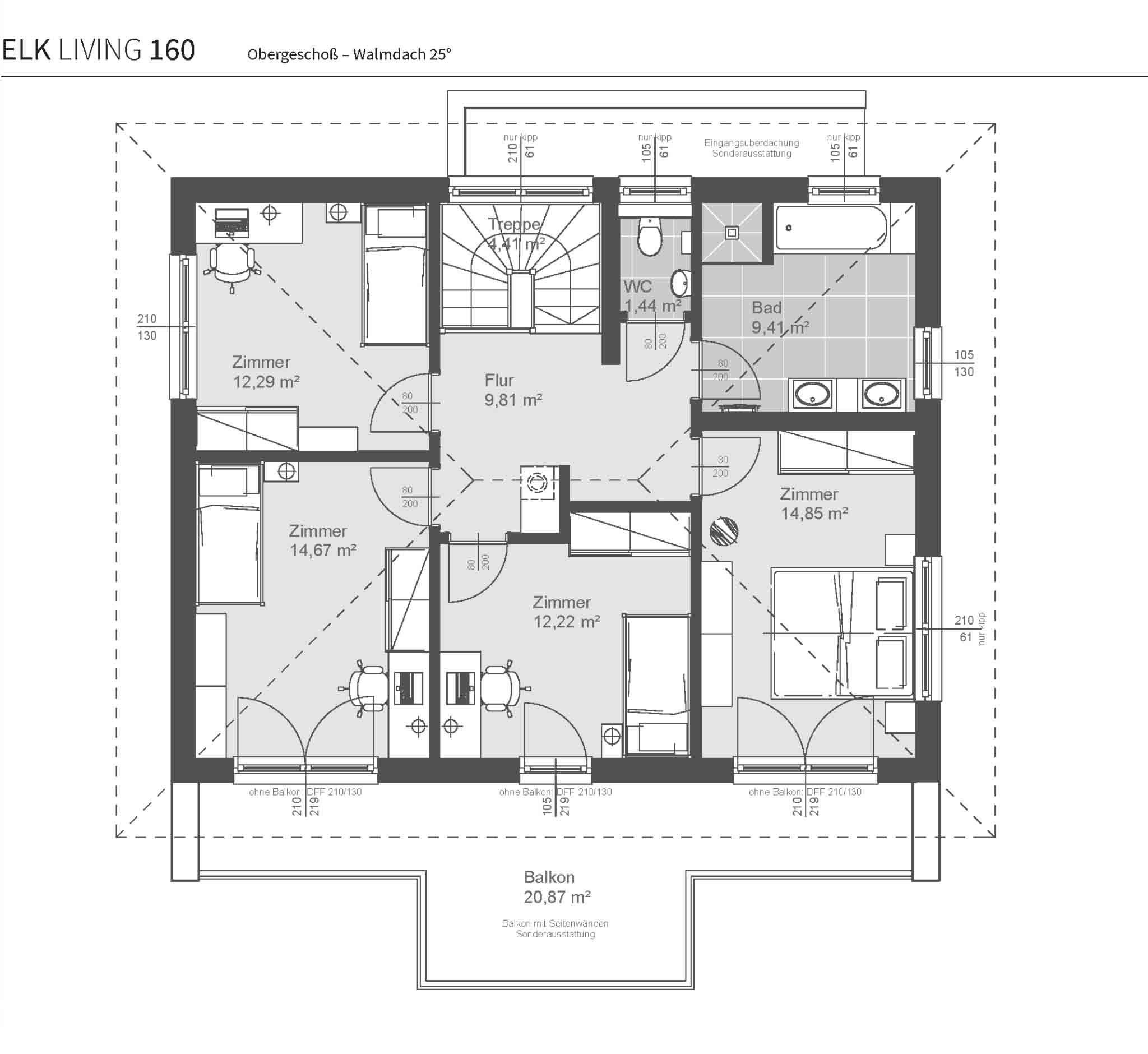 Der perfekte Grundriss als Basis für Ihr Haus ELK Living