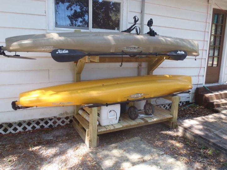 31671d1318119623 Kayak Storage Rack 011 Jpg 723×542 Pixels