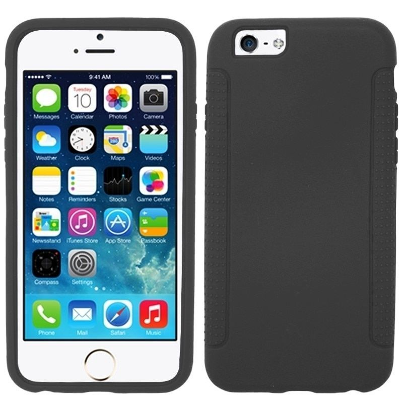 Insten Colorful Soft Silicone Rubber Skin Phone Case Cover for Apple iPhone 6 4.7-inch #1903702