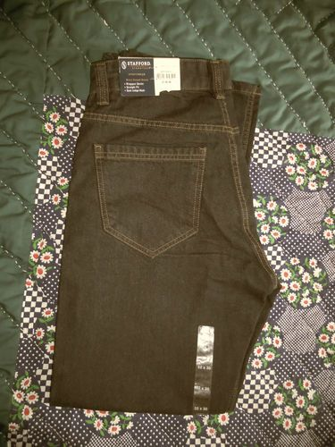 Look what I found on @eBay! http://r.ebay.com/3NjhLR  $9.00  Men's Jeans Size 32 x 30 By Stafford Signature New With Tags