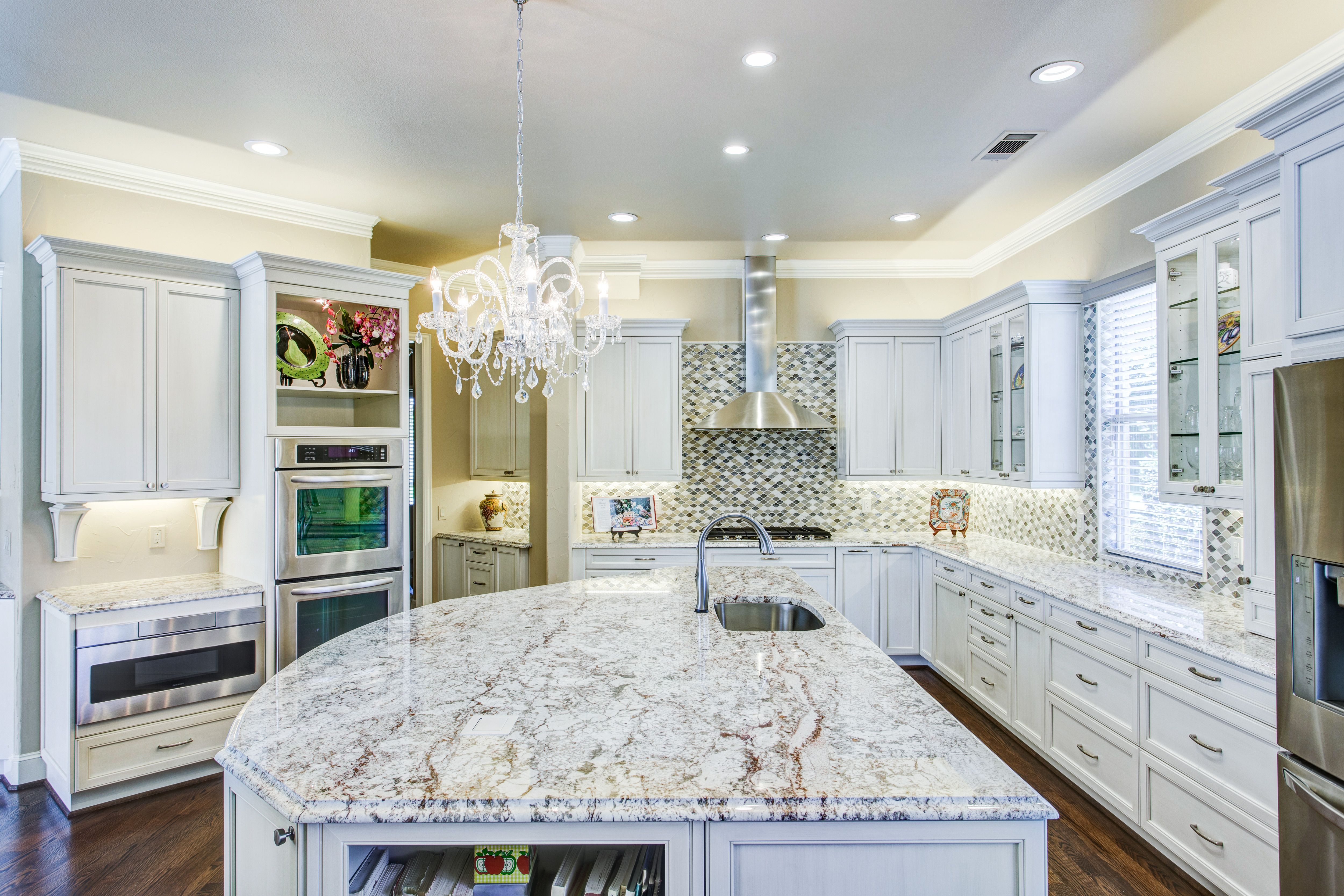 Kitchen Remodeling Plano Tx Painting Classic White Kitchen With A Twist  Plano  Glendower  Kitchen .