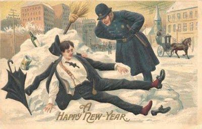 Kansanperinne-blogi: Juhlaperinne Interpreting New Year's tin