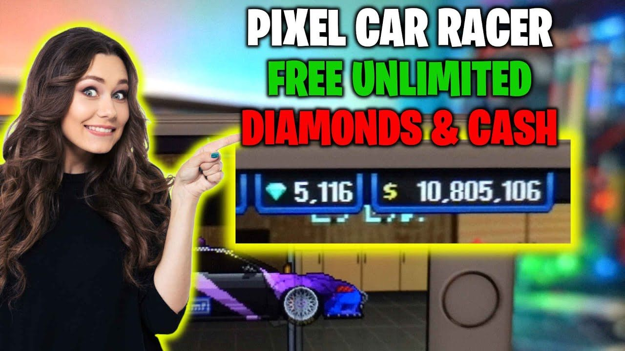 Pixel car racer unlimited diamonds glitch how to get