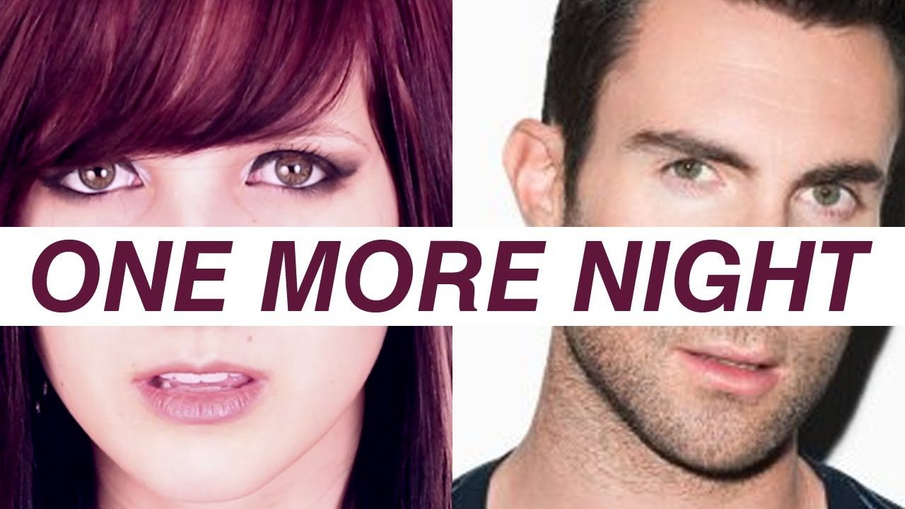 Maroon 5 One More Night Rock Version By Halocene With Images One More Night