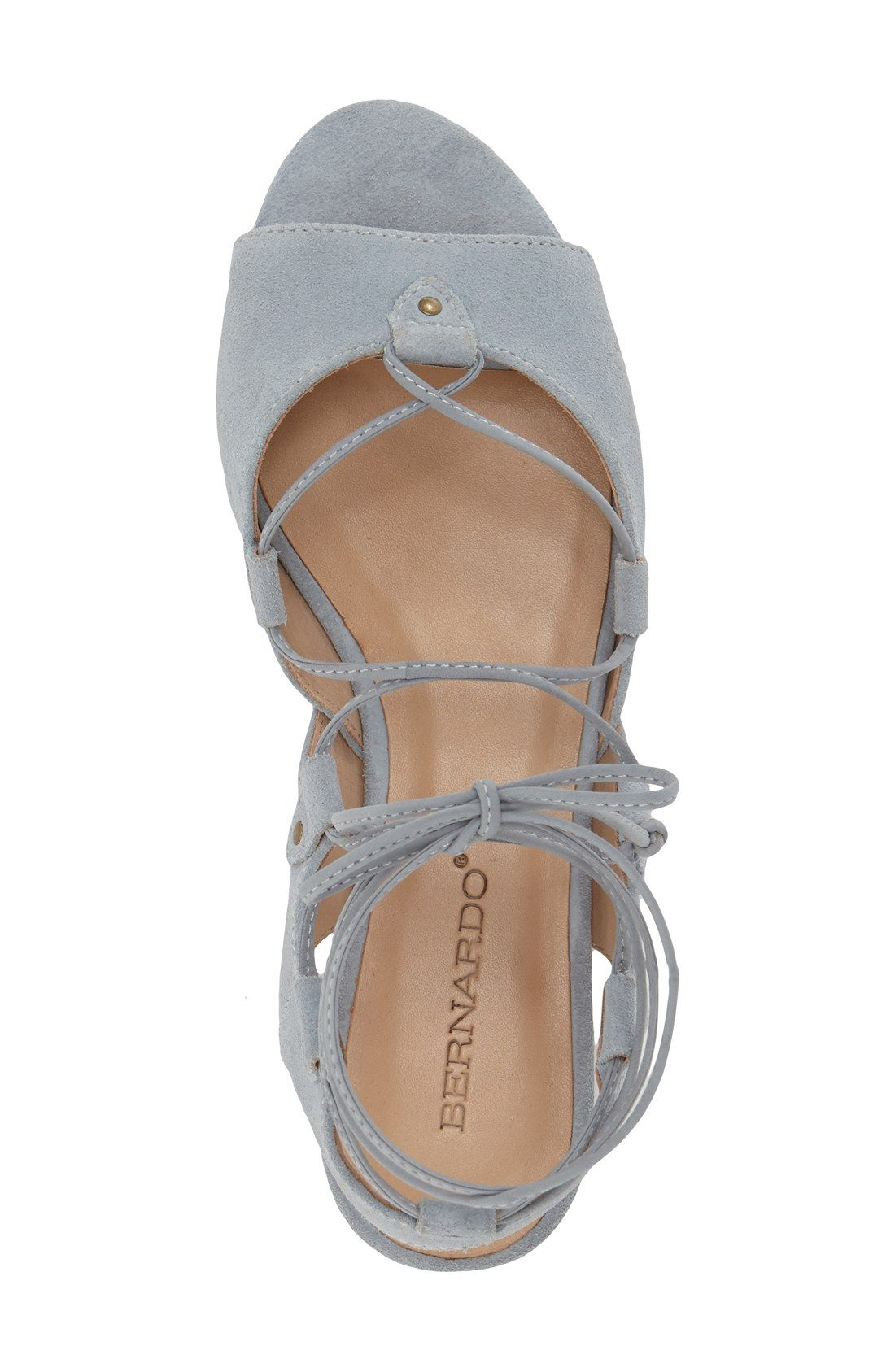 Bernardo Footwear 'Olivia' Lace-Up Sandal (Women) $154