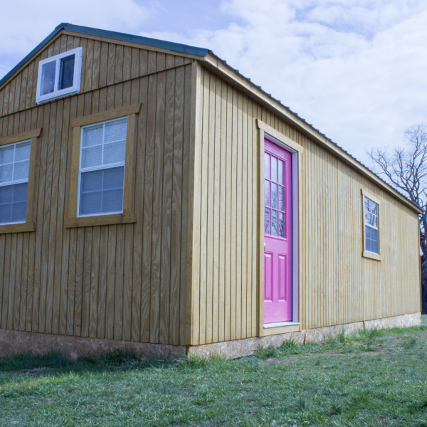 12 x 32 Shed Converted into a Tiny Home - Tiny House