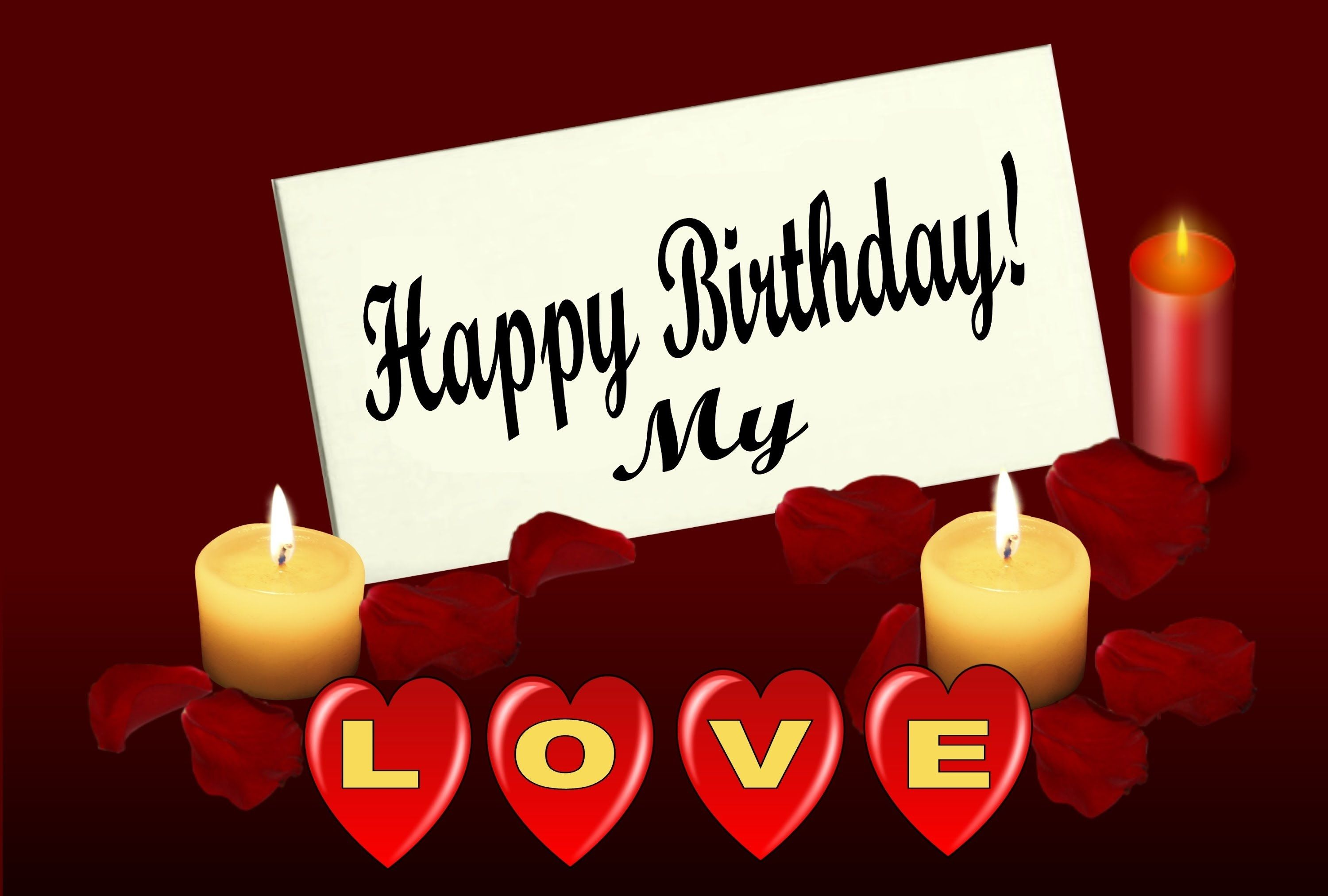 Happy birthday my love birthday cards and wishes birthdays happy birthday my love birthday cards and wishes m4hsunfo