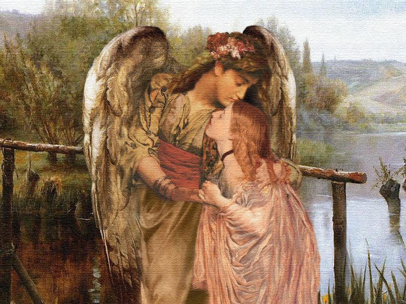 Victorian Angels | Love Angels Will See You...