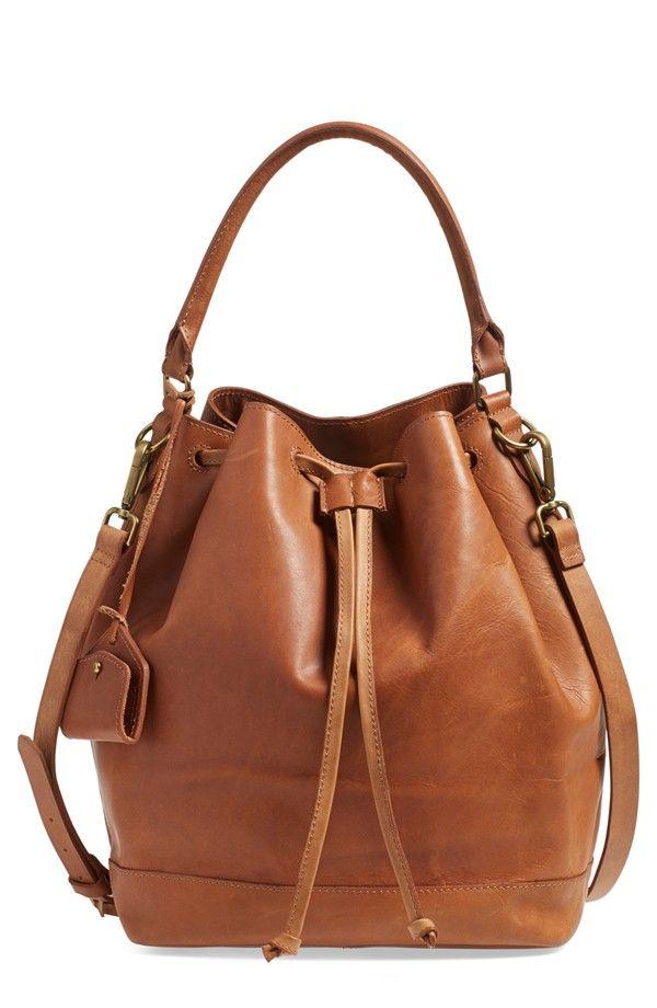 Madewell Lafayette Bucket Bag
