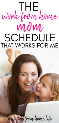 Working from home with kids - Sample Schedule #stayathome